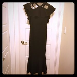 🔥🔥RACHEL ZOE black gown🧜‍ 1/2 OFF 💰🏷